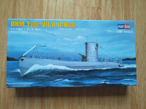HobbyBoss 83503 1//350 Scale DKM Navy Type VII-A U-Boat Assembly Model Kits