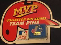 Montreal Expos Vintage Team Logo M.v.p. Collector Pin Series Sealed Mlb