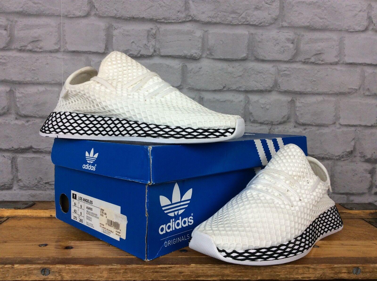 Adidas UK 5 EU 38 blancoo Negro Negro Negro deerupt Malla Zapatillas Niños Niñas Niños Damas  más vendido