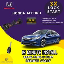 Plug Amp Play Remote Start Fits 2003 2007 Honda Accord With Key To Start