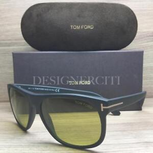 74f188d074e Tom Ford Olivier TF 236 TF236 Sunglasses Matte Black 02N TFL ...