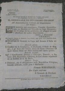1797-MILANO-ARMATA-D-039-ITALIA-NAPOLEONE-SUI-CONFINI-REGGIO-EMILIA-MODENA-LOMBARDIA