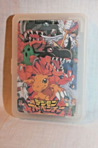NEW IN PLASTIC BOX DIGIMON   AGUMON PLAYING CARDS DECK
