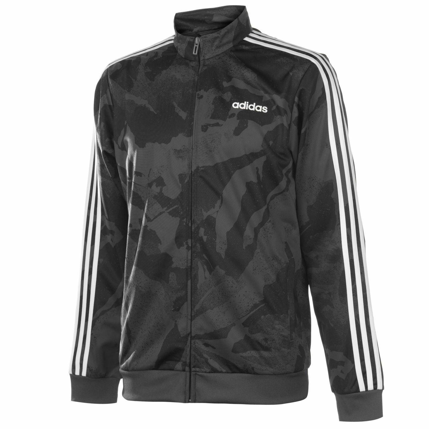 Adidas para hombre 3S camotracktop  92 Chándal Top  Garantía 100% de ajuste