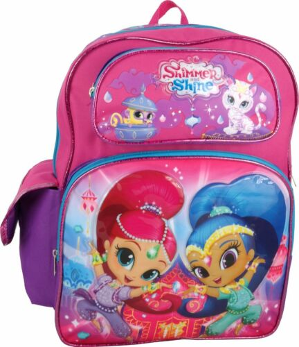 """Nickelodeon Shimmer and Shine Large 16/"""" Backpack"""