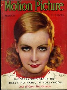 MOTION-PICTURE-magazine-Mar-1931-GRETA-GARBO-cover-by-JOSE-M-RECODER
