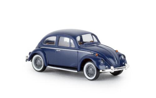 "h0 /""de luxe/"" nuevo 2019 Brekina 25043 vw escarabajo azul oscuro"