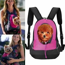 Pet Carrier Back pack Small Animal Cat Dog Travel Bag Front Carrying Double Bags