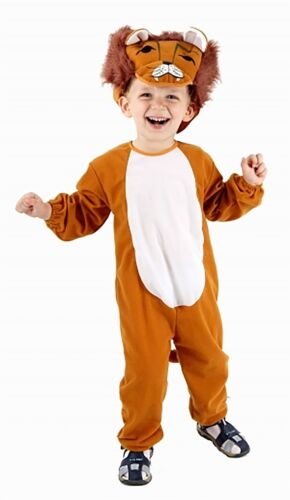 New Toodler Kids Lion Costume Childrens Fancy Dress Parties Outfit 3 Years