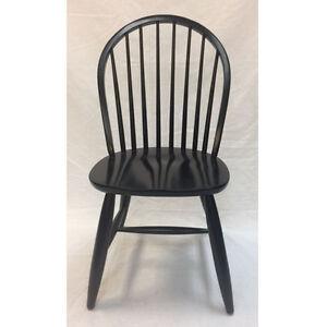 Windsor Wood Chair in Black