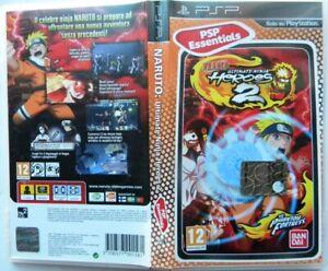 Naruto Ultimate Ninja Heroes 2 Sony Psp Essentials Ebay