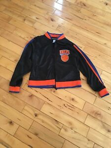 929b6f39 YOUTH'S NBA REEBOK NEW YORK KNICKS SEWN FULL-ZIP JACKET MEDIUM 2 ...