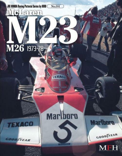 Mfh Book No4 Mclaren M23 M26 1973-78 All 80 Page Referencia Libro