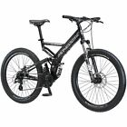 All Terrain Mongoose Blackcomb Mountain Bike Black 26inch Tires