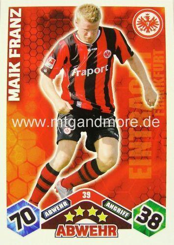 Match coronó Maik Franz #39 10//11
