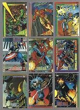 1993 MARVEL UNIVERSE SERIES 4 COMPLETE BASE CARD SET IMPEL SKYBOX MARVEL COMICS