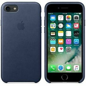 cheap for discount 9f1c2 dff2b Apple MMY32ZMA iPhone 7 Leather Case Midnight Blue Mmy32zm/a