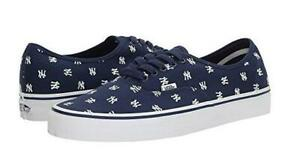 Vans-New-York-Yankees-MLB-Authentic-Sneaker-Limited-Edition-Shoes-Navy-Blue-NYY