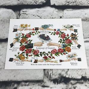 Vintage-Postcard-Good-Ole-Days-Language-Of-Bouquets