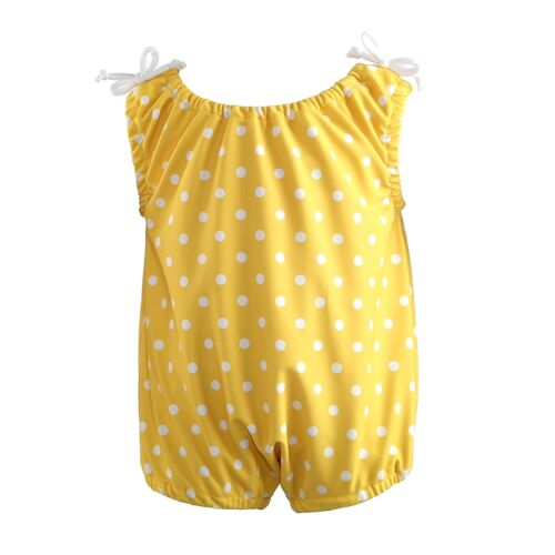 18-24 Months RRP £35 BNWT Rachel Riley Baby Girls Yellow Swimsuit Sizes 6-12