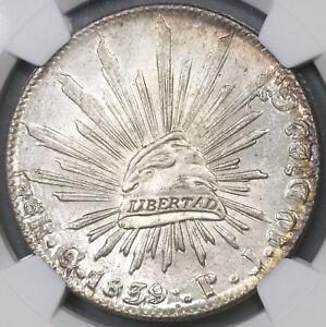 1839-Go-NGC-MS-63-Mexico-8-Reales-Guanajuato-Silver-Coin-POP-6-4-18111202C
