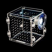 New Fish Tank Aquarium Small Hatchery Plastic Box for Breeding Nursery Isolation