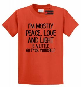 Mostly-Peace-Love-Light-Little-Go-F-Yourself-Funny-T-Shirt-Yoga-Graphic-Tee