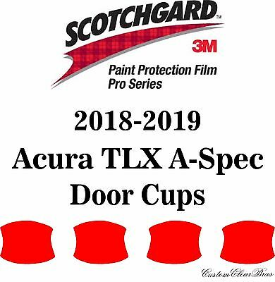Acura TLX A-Spec 2018-2019 PreCut 3M PRO Series Paint Protection Film Clear Bra