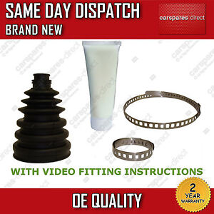 2X FIAT CROMA OUTER CV JOINT BOOT KIT-DRIVESHAFT BOOT KIT BOOTKIT GAITER STRETCH