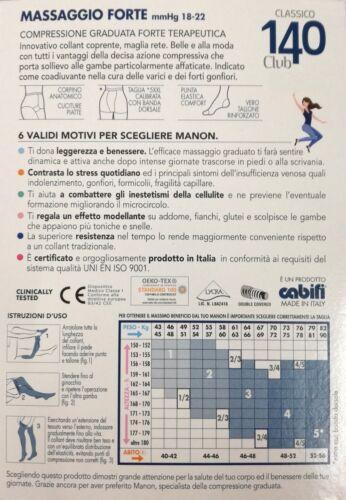CALZE SANITARIE RIPOSANTI 140 DEN COLLANT COMPRESSIONE GRADUATA DAINO