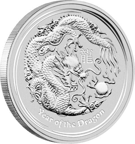 Series II 2012 Australian Lunar Dragon 5 oz Silver Coin