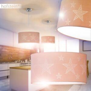 Design-Haenge-Leuchte-Kuechen-Tisch-Stoff-Pendel-Lampe-Decken-Ess-Zimmer-Sterne