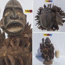 AUTHENTIC Bakongo Kongo Nkisi Figure Sculpture Statue Mask Fine African Art