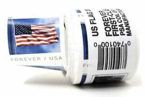 1 coil Brand New Sealed Roll 100 USPS 2019 Forever Postage Stamps