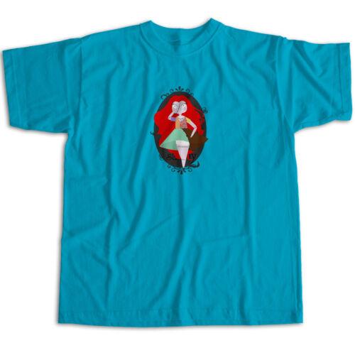 Nightmare Before Christmas Sally Rag Doll Disney Cartoon Cute Unisex Tee T-Shirt