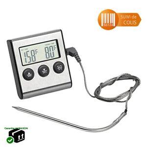 Thermometre-de-Cuisine-Digital-Sonde-de-Temperature-de-Cuisson-Alimentaire