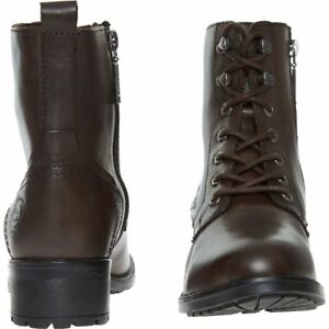 DOCKERS-by-Gerli-Women-039-s-Brown-Genuine-Leather-Ankle-Boots-sizes-UK-5-6