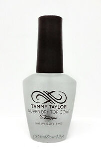 TAMMY TAYLOR - SUPER DRY TOP COAT For Acrylic and Natural Nails ...