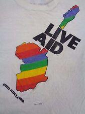 1985 Live Aid Philadelphia T-Shirt sz. M Black Sabbath, Ozzy Osbourne, Judas Pri