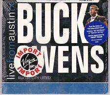 CD DIGIPACK 11T BUCK OWENS LIVE FROM AUSTIN TX DE 2007 NEUF SCELLE USA