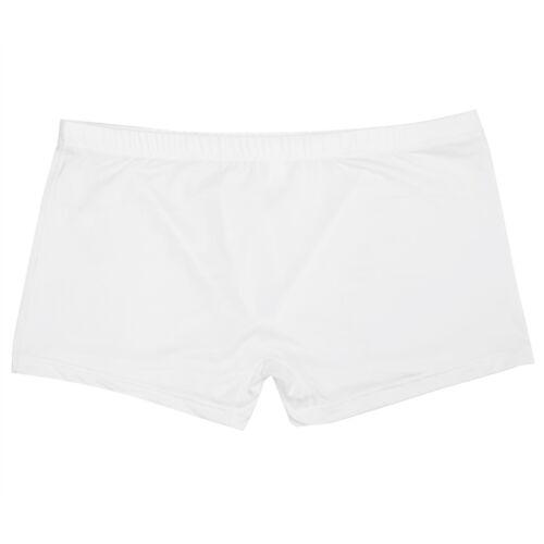 US Men/'s Lingerie Boxer Briefs Mesh Underwear Swimming Trunks Underpant Bikini