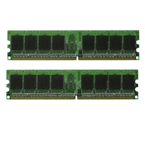2GB 2X1GB Dell XPS 410 Desktop//PC Series DDR2 PC2-5300 Memory