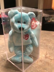Ty Beanie Babie Thank You Bear 2000 NM Condition