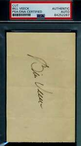 Bill-Veeck-PSA-DNA-Coa-Autograph-Hand-Signed-3x5-Index-Card