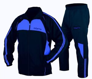 ISLERO-Men-Sports-Tracksuit-Gym-Jogging-Running-Zipper-Trouser-Upper-Football
