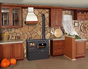 po le bois cuisini re 15 kw 2 sup rieur plaques br leur. Black Bedroom Furniture Sets. Home Design Ideas