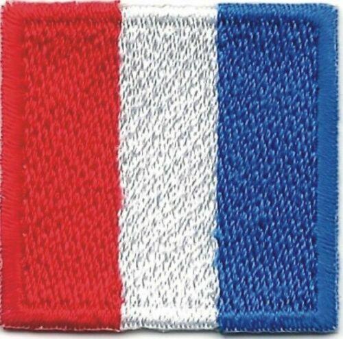 "1 1//4/"" International Maritime Nautical Signal Flag Letter T Tango Patch"