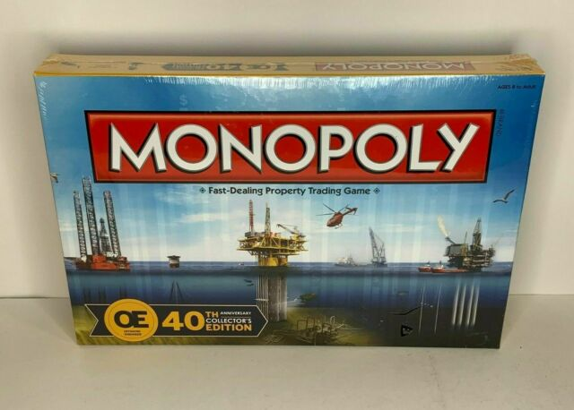 MONOPOLY OE Offshore Engineer 40th Anniversary Collectors Edition Factory