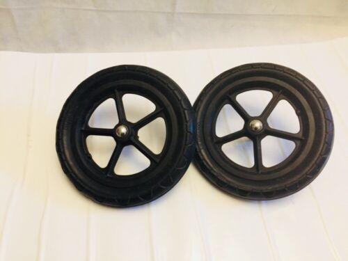 2 X Bugaboo Cameleon 2 Rear Back Wheels Foam OILED AND WORKING