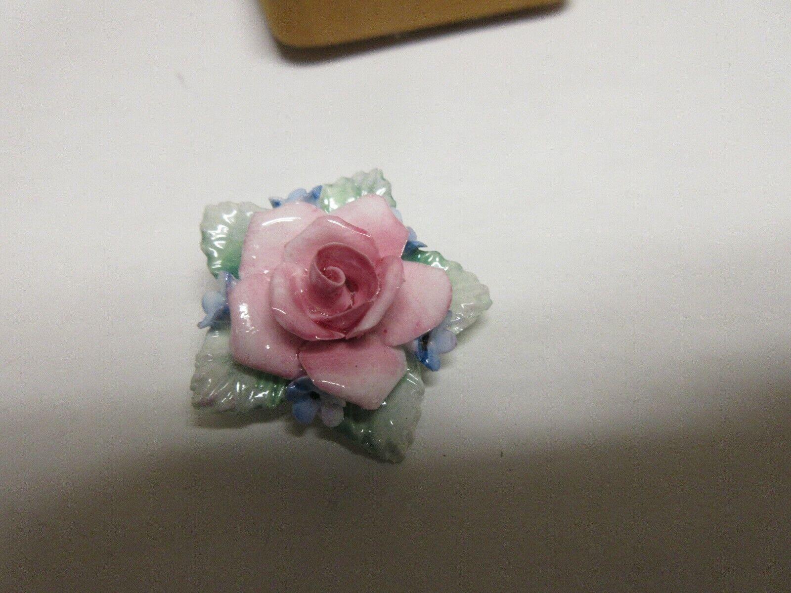 "Costume Jewelry , Vintage , Scruples , Flower Pin 11/2"""